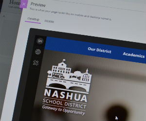 Redesigned School District and School Websites Launched