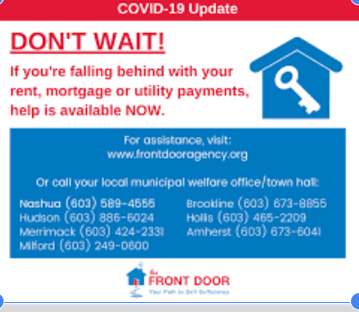 Front Door Agency to help if you falling behind on rent, mortgage, or utility payments